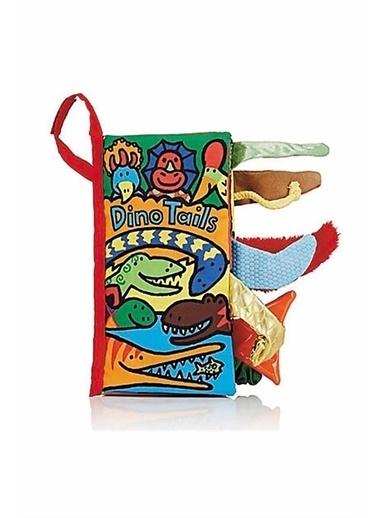 Jelly Cat Jellycat Bez Kitap/Dino Tails Renkli